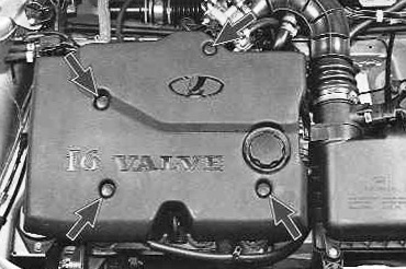 Проверка компрессии в двигателе Лада Приора