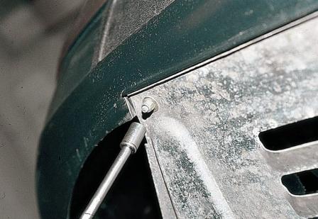 Снятие и замена передней защиты двигателя ВАЗ 2110, 2111, 2112