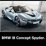 BMW i8 spyder: описание, технические характеристики, фото и видео