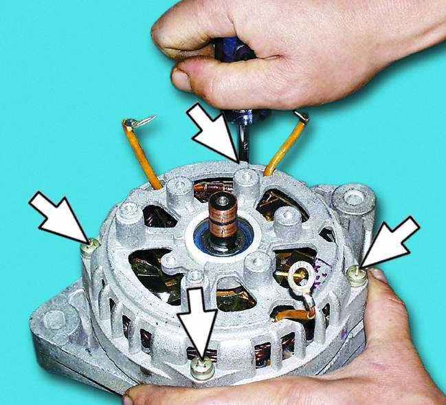 Ремонт ваз генератор