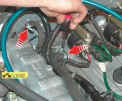 Снятие и установка двигателя автомобиля Волга ГАЗ 31105