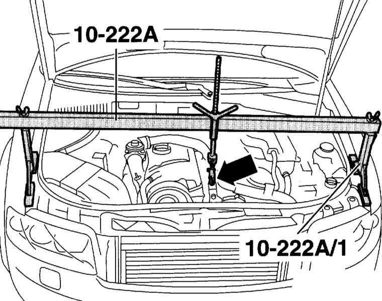Снятие и установка коробки передач Audi A4