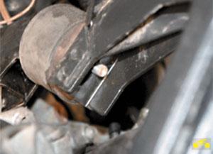 Снятие и установка двигателя Chevrolet Niva