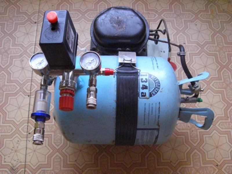 Из чего и как сделать компрессор 218