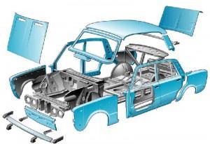 Кузовное железо Ваз от Начало и других производителей: что нужно знать перед заменой нового кузова