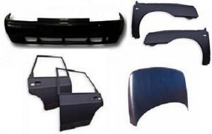 Кузовные запчасти Ваз в цвет кузова и некрашеные: запчасти для Лада и других вазовских моделей