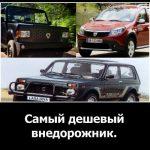 Самый дешевый внедорожник: в мире, Европе и России