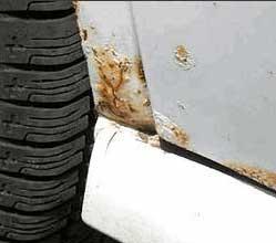 Как убрать ржавчину с кузова автомобиля своими руками ваз фото 742