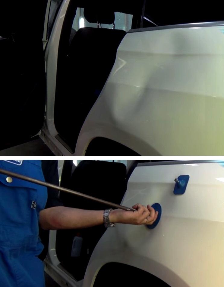 Рихтуем авто своими руками 10