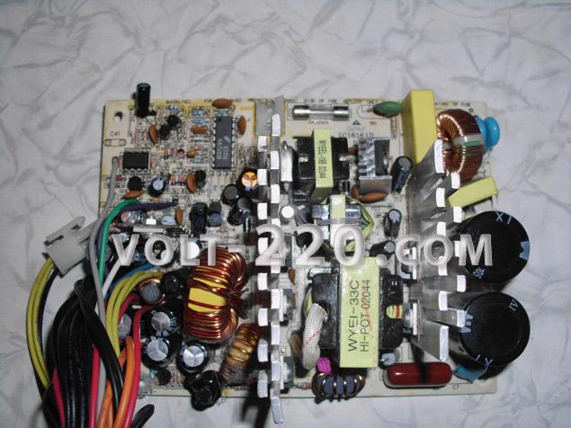 Переделка компьютерного блока питания ATX в регулируемый блок питания