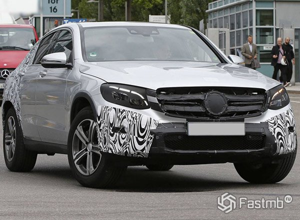 Свежие фото Mercedes-Benz GLC Coupe