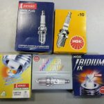 Замена свечей зажигания Лада Гранта на 8 и 16 кл моторе
