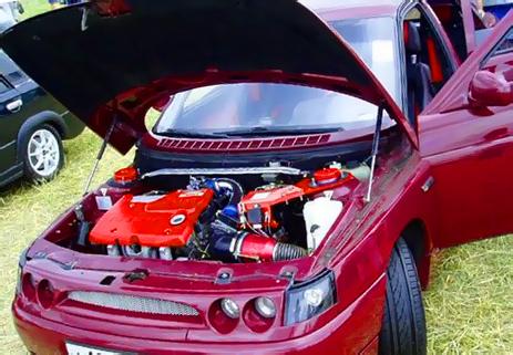 Тюнинг двигателя ВАЗ 2110