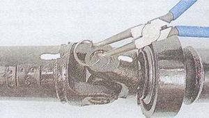 карданный вал автомобиля ваз 2107 — разборка и сборка