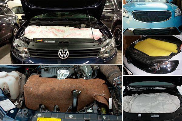 Чем утеплить двигатель авто на зиму своими руками 29