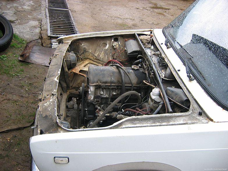Двигатель от ваз 2112 в ваз 2107 — тюнинг, часть1. (фотоотчет)