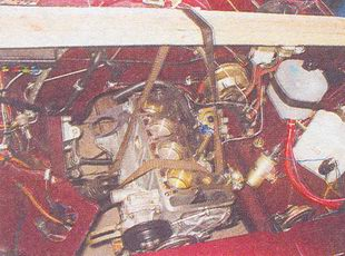 двигатель автомобиля ваз 2107 — снятие и установка