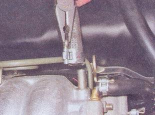 ресивера ваз 2107 снятие и установка