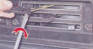 Замена ламп подсветки панели приборов на автомобиле ваз 2107 —  снятие/установка приборной панели