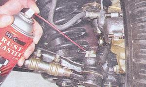 замена рулевых тяг на автомобиле ваз 2107
