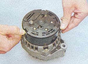 разборка, ремонт генератора 9412.3701 — автомобиль ваз 2107