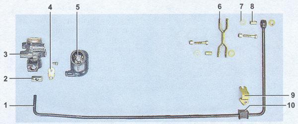 проверка и замена регулятора давления тормозов на автомобиле ваз 2107