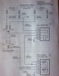 Установка и подключение противотуманных фар на Калину