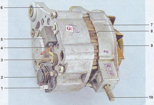 устройство генератора автомобиля ваз 2107