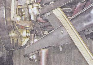 замена пружины передней подвески на автомобиле ваз 2107