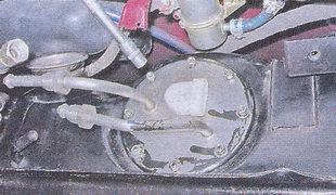Электробензонасос автомобиля ваз 2107 с датчиком указателя уровня топлива снятие — установка