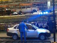 На ИжАвто началось промышленное производство седанов Лада Гранта