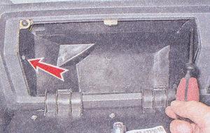 Снятие и установка приборной панели на автомобиле ваз 2107