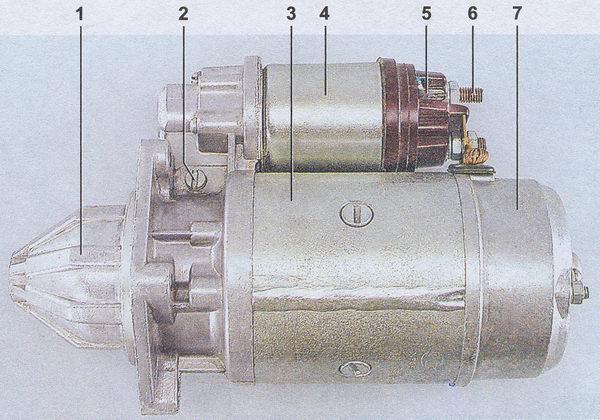 Устройство стартера автомобиля ваз 2107