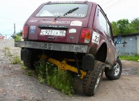 ВАЗ 2121 4×4 «Niva nal drifting»