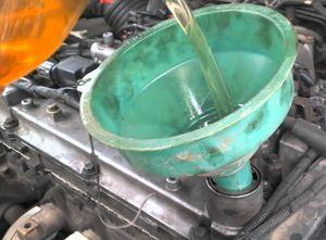 промывка дигателя автомобиля